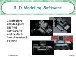 3 d modeling software