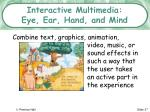 interactive multimedia eye ear hand and mind