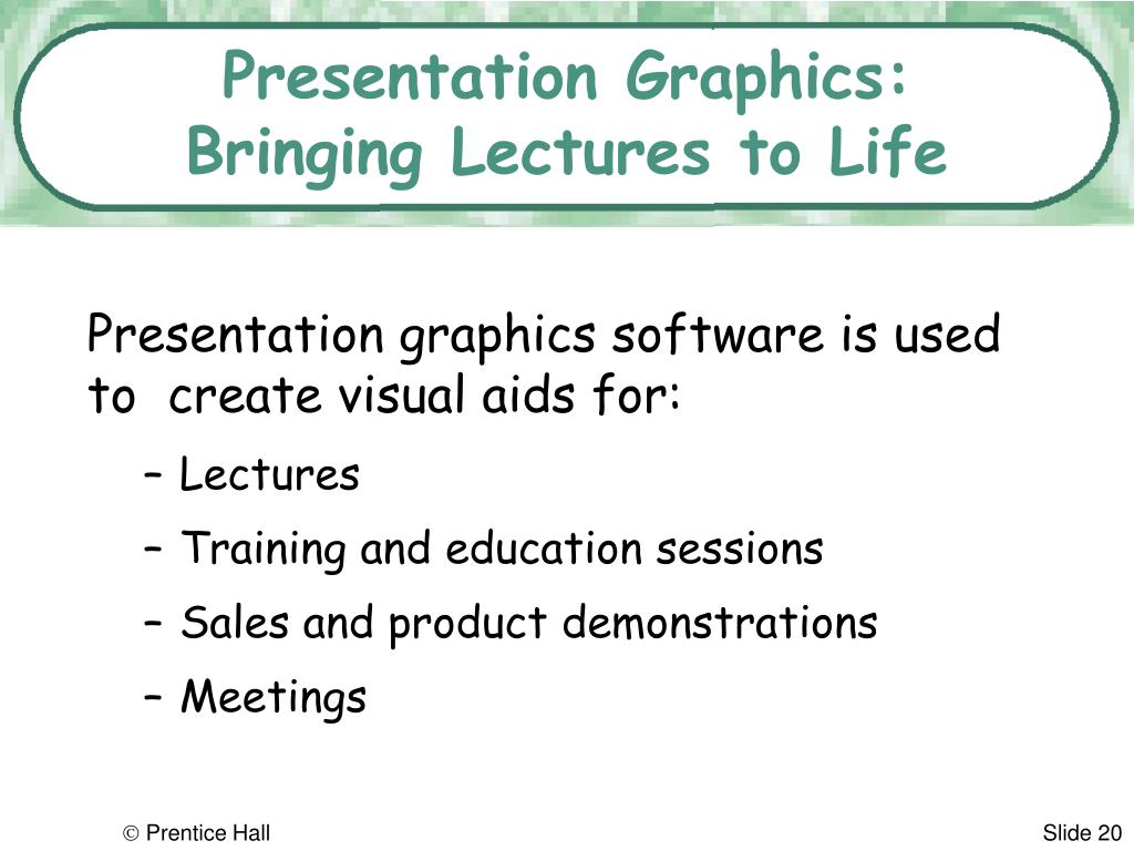 Presentation Graphics: