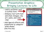 presentation graphics bringing lectures to life21