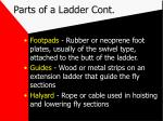 parts of a ladder cont6