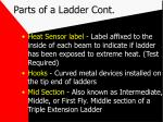 parts of a ladder cont7