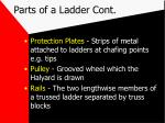 parts of a ladder cont8
