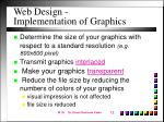 web design implementation of graphics12