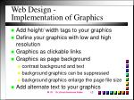 web design implementation of graphics13