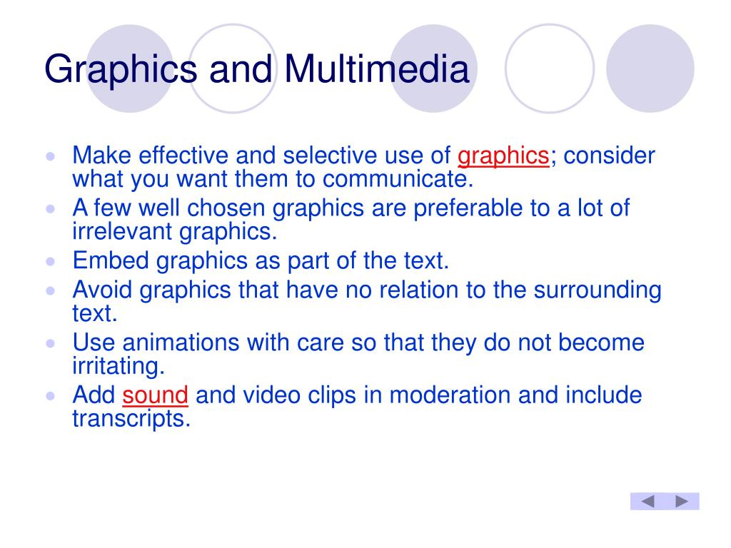Graphics and Multimedia