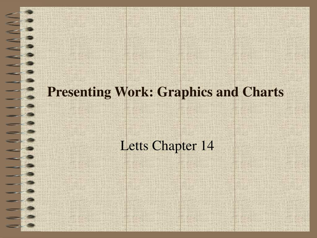 Presenting Work: Graphics and Charts