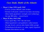 case study battle of the atlantic