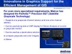 innovations in graphics support for the efficient management of gis13
