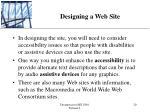 designing a web site20