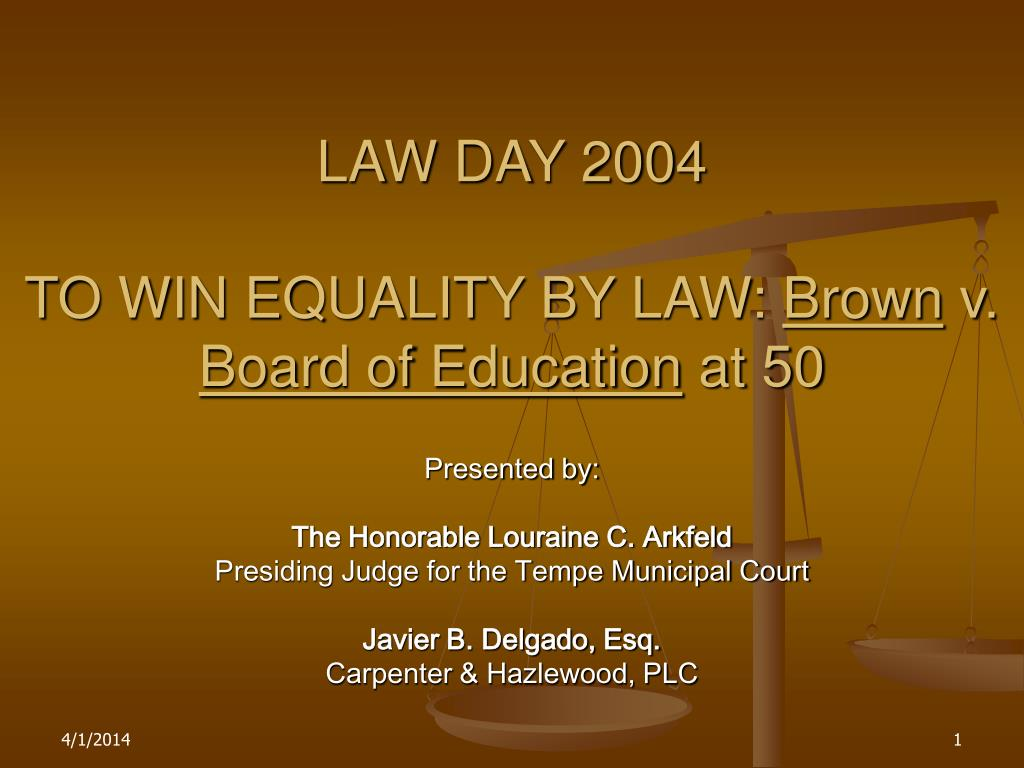 LAW DAY 2004