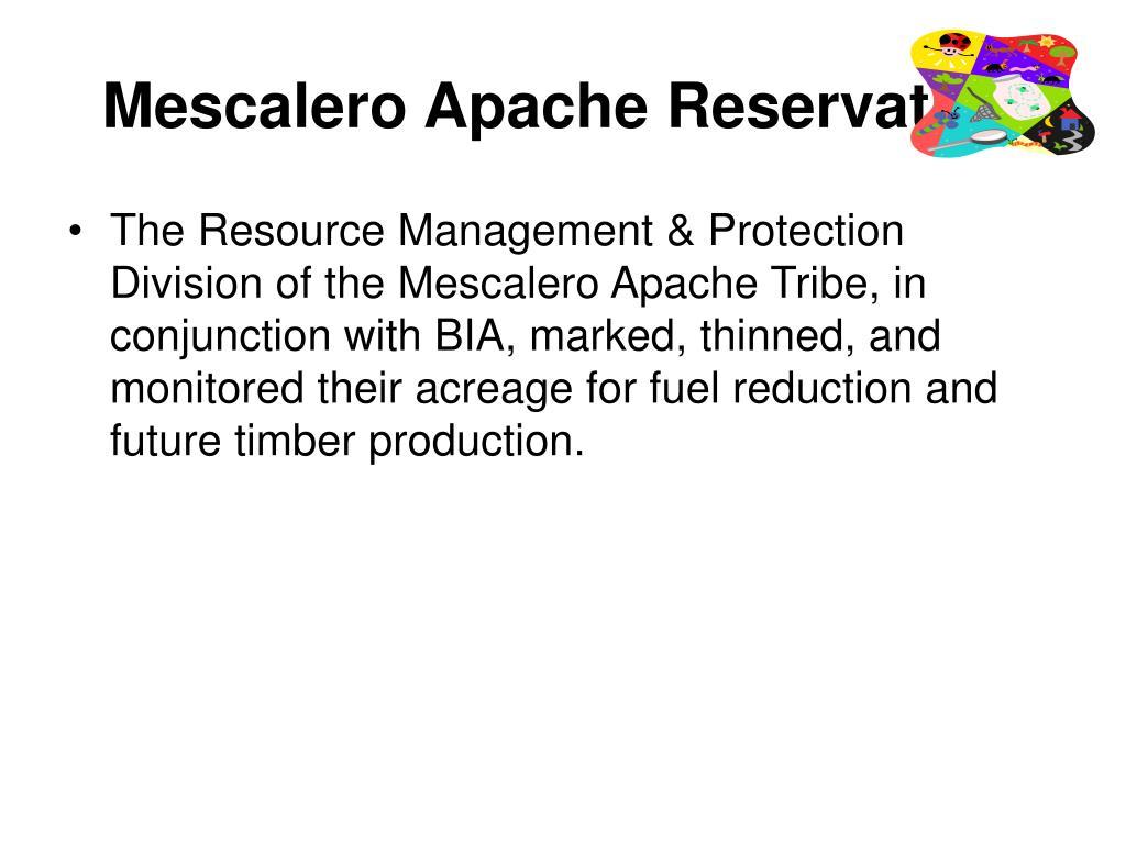 Mescalero Apache Reservation