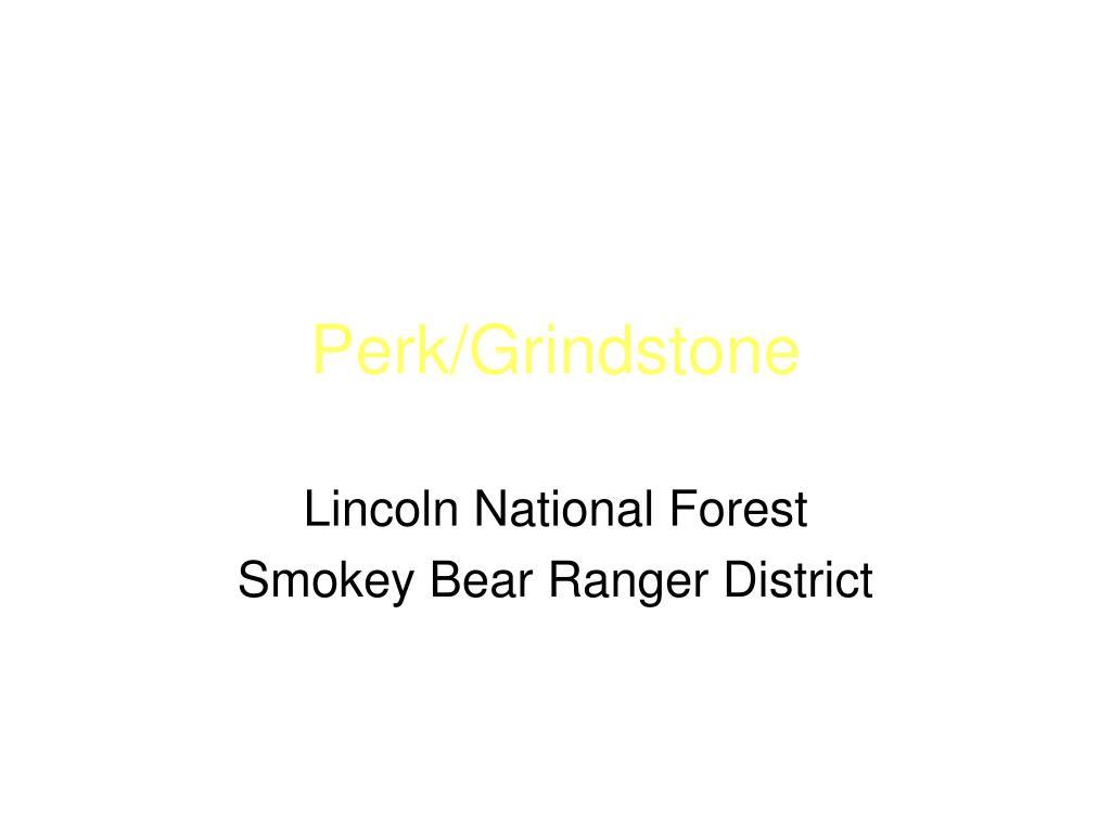 Perk/Grindstone