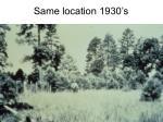 same location 1930 s