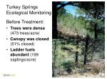 turkey springs ecological monitoring2