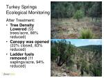 turkey springs ecological monitoring3