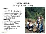 turkey springs ecological monitoring4