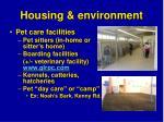 housing environment