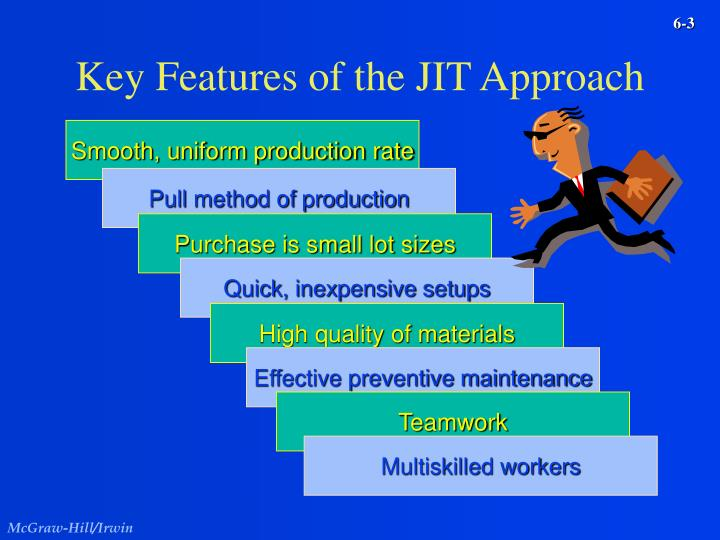Key features of the jit approach