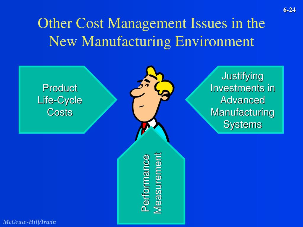 Other Cost Management Issues in the New Manufacturing Environment