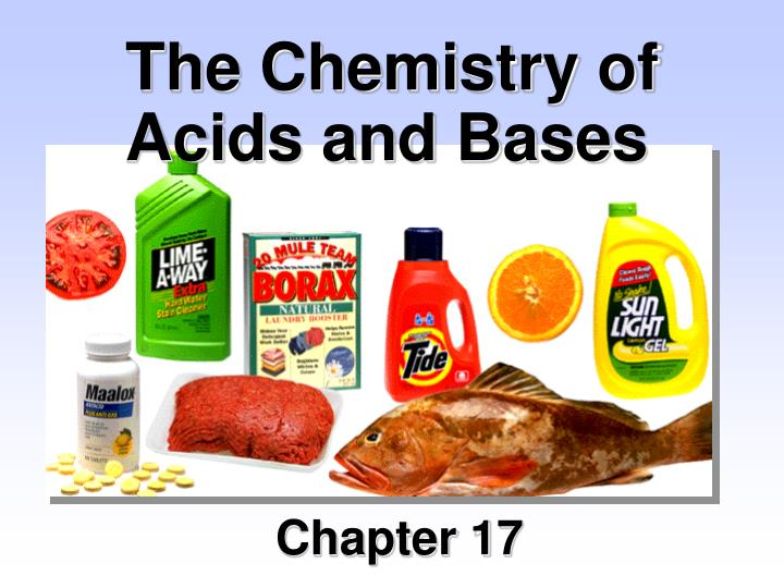 the chemistry of acids and bases n.
