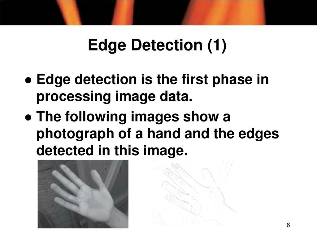 Edge Detection (1)