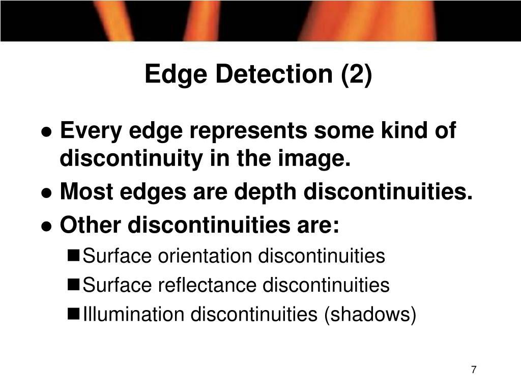 Edge Detection (2)