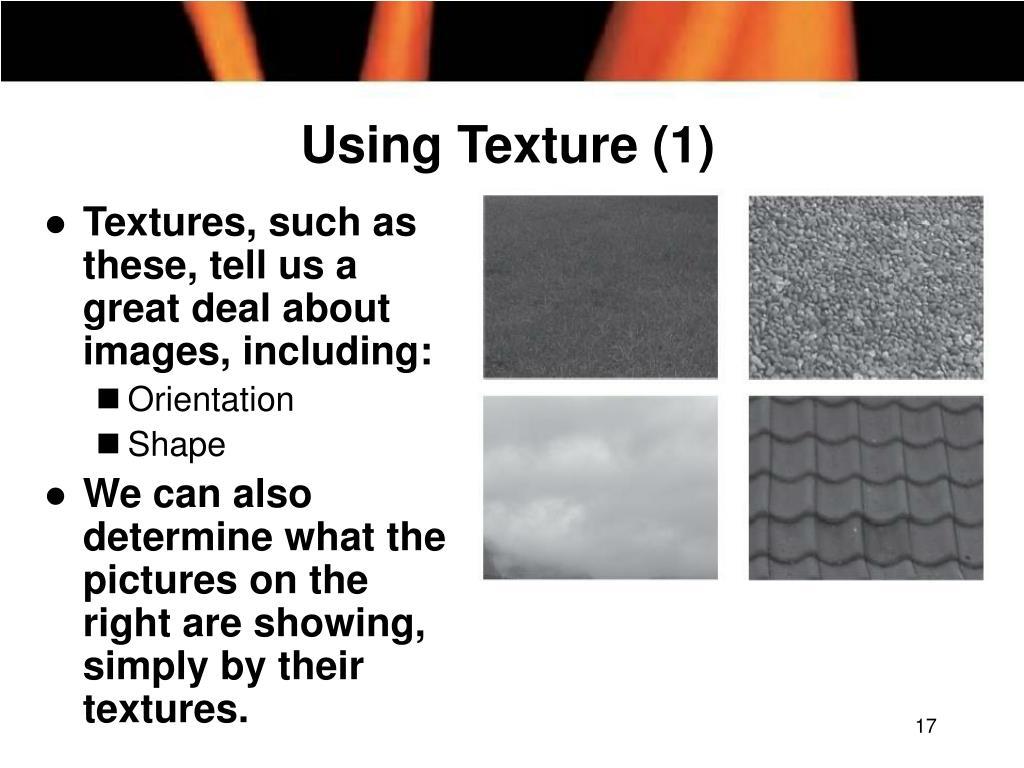 Using Texture (1)