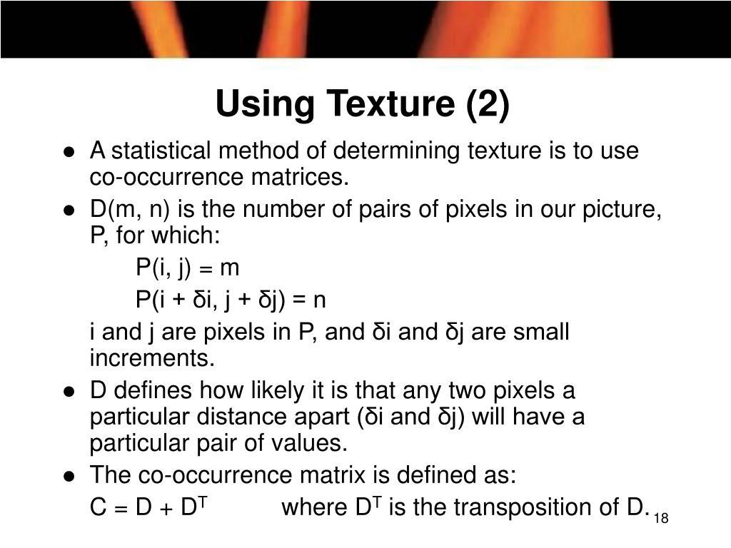 Using Texture (2)