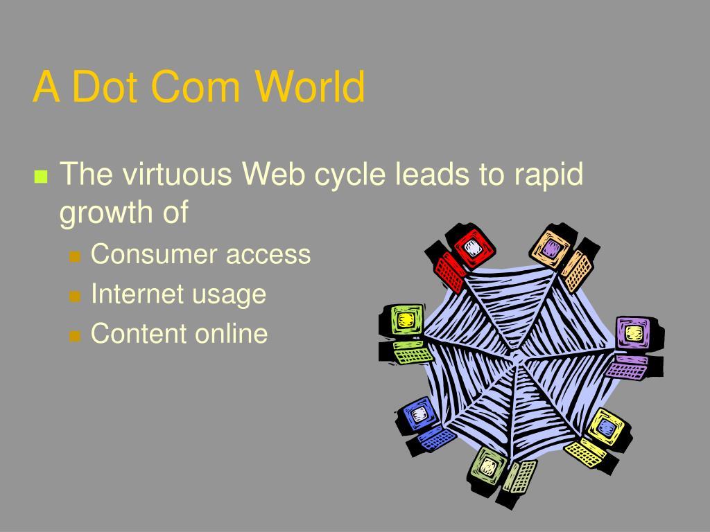 A Dot Com World