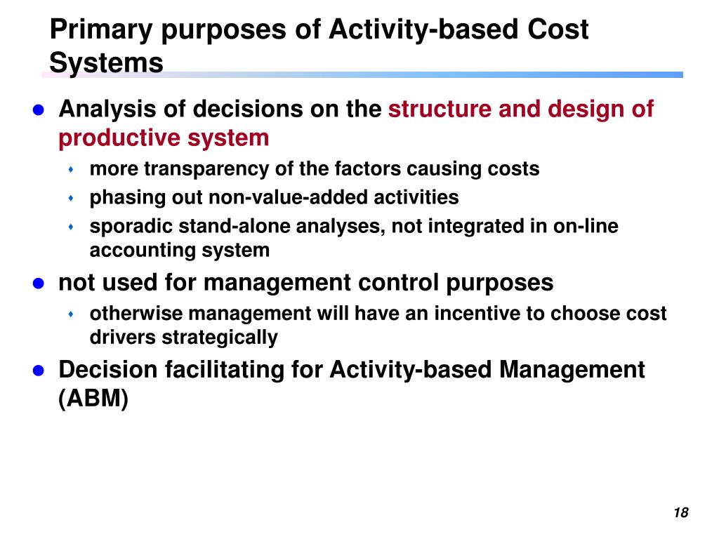 Ppt Chapter 5 Activity Based Cost Systems Powerpoint Presentation Free Download Id 601610