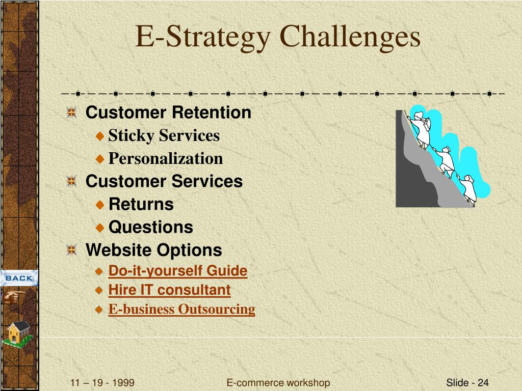 E-Strategy Challenges