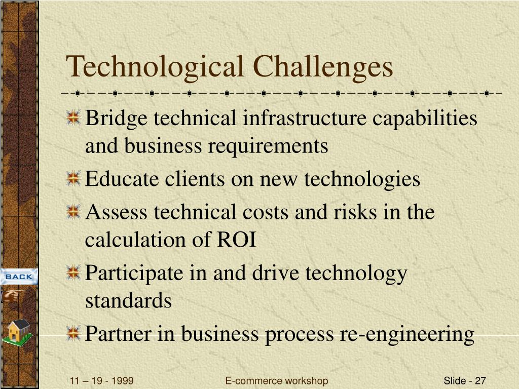 Technological Challenges