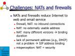 challenges nats and firewalls