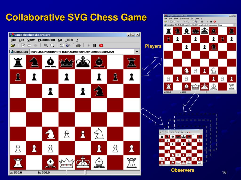 Collaborative SVG Chess Game
