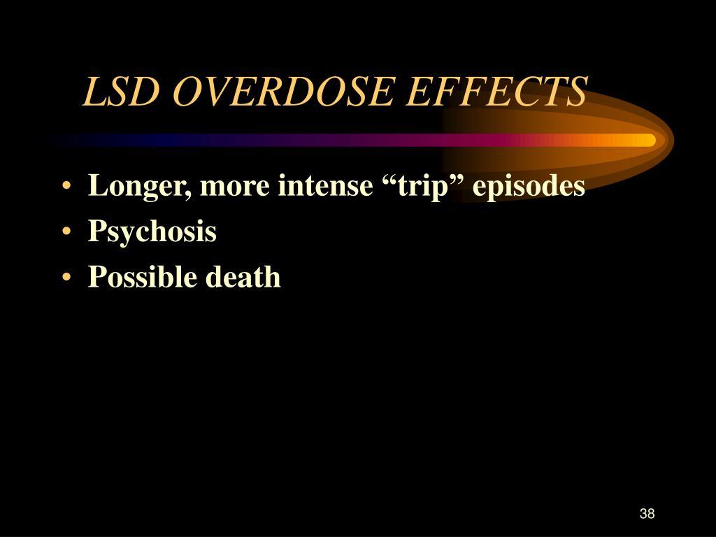 LSD OVERDOSE EFFECTS