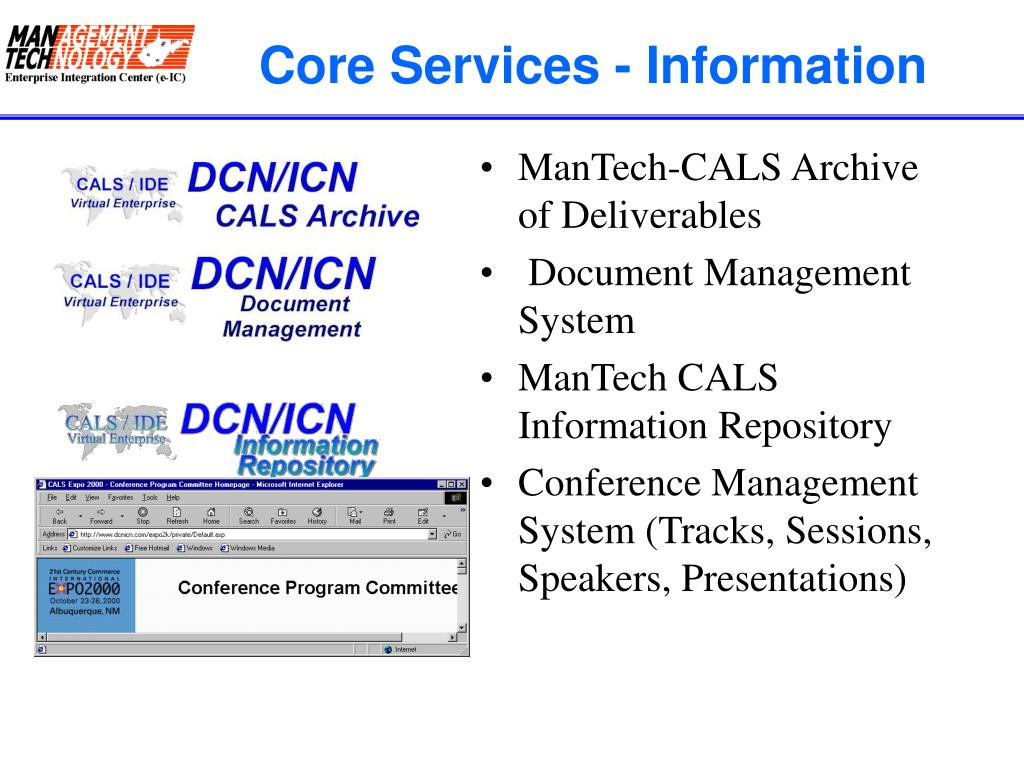 Core Services - Information