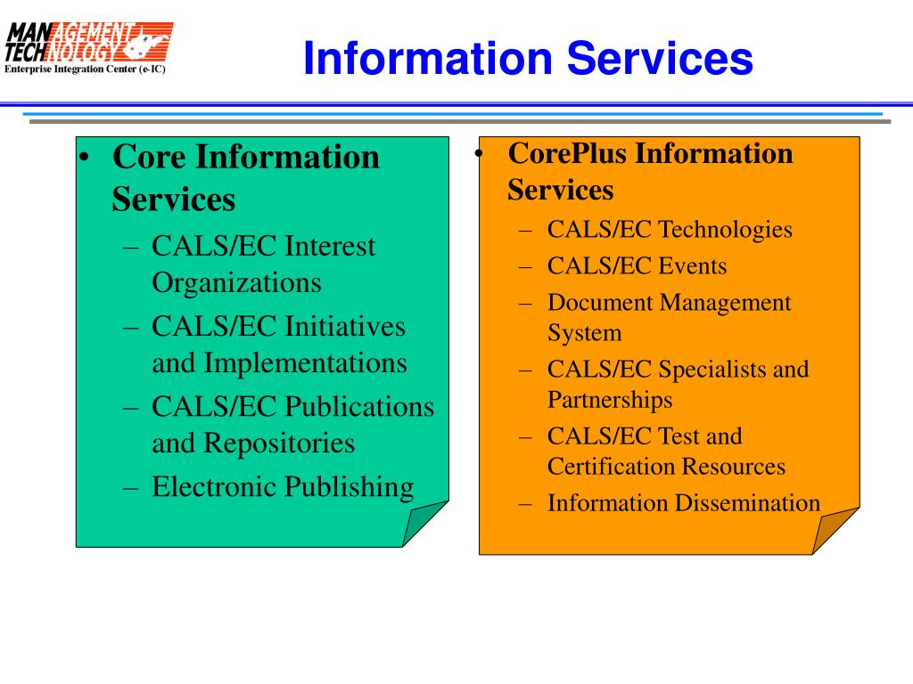 Core Information Services
