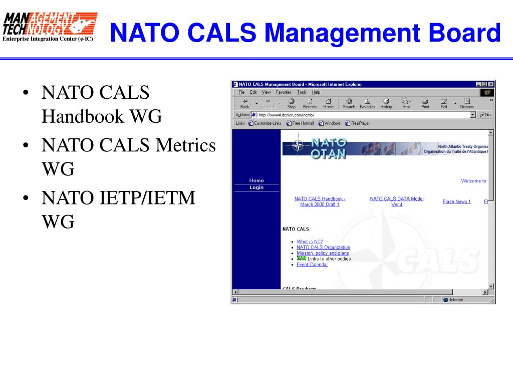 NATO CALS Management Board