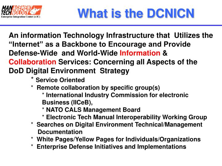What is the DCNICN