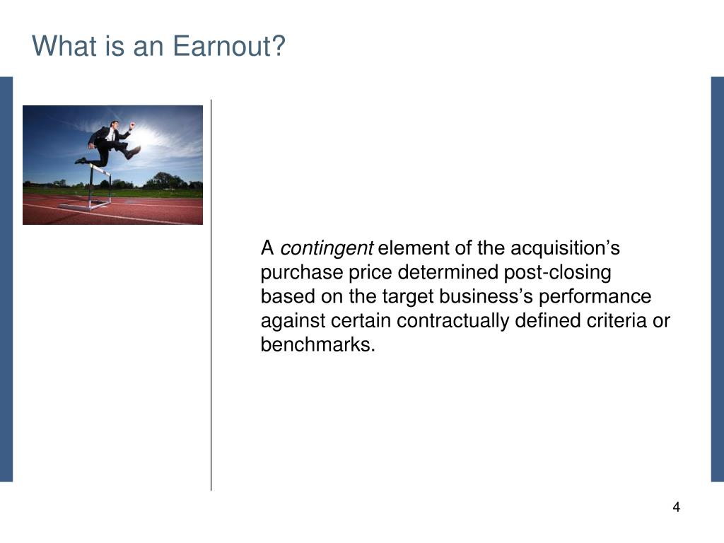 What is an Earnout?