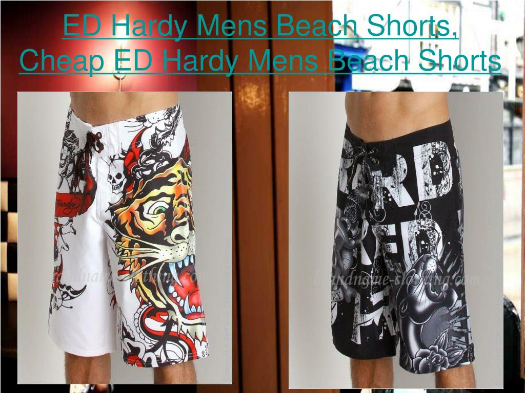 ed hardy mens beach shorts cheap ed hardy mens beach shorts l.