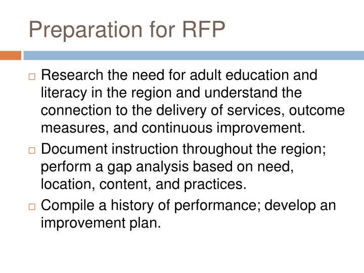 Adult literacy recruitment and retention plan