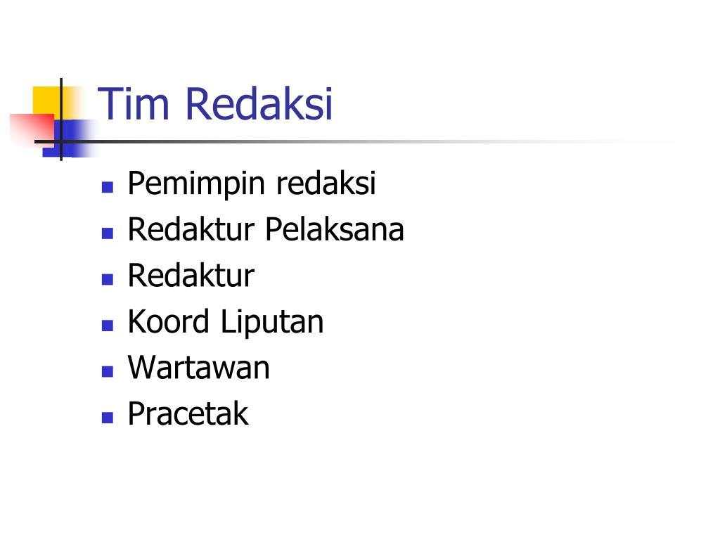 Tim Redaksi