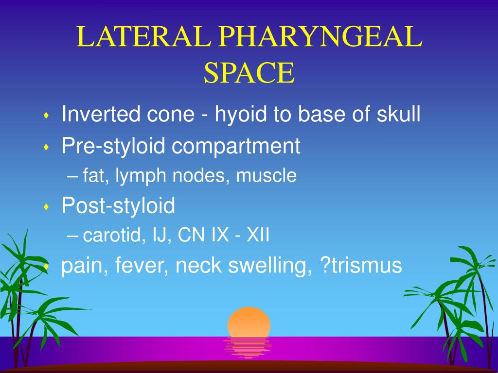 LATERAL PHARYNGEAL SPACE