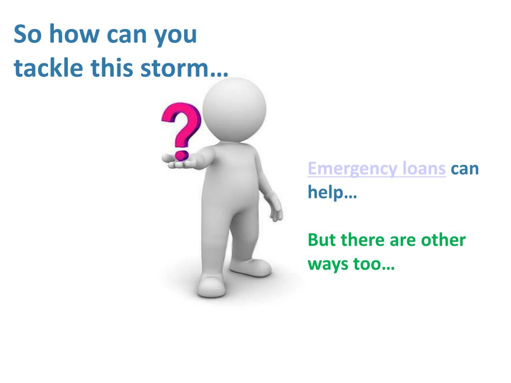 So how can you tackle this storm…