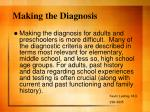 making the diagnosis1