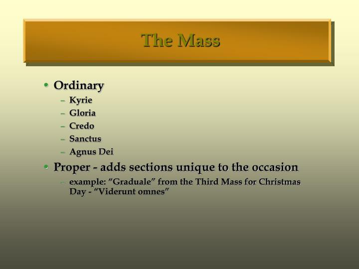 The Mass