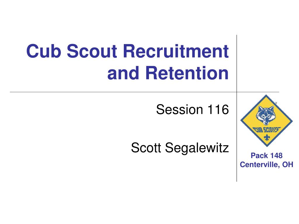 Ppt cub scout recruitment and retention powerpoint for Cub scout powerpoint template