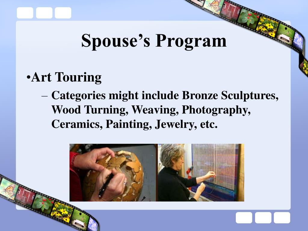 Spouse's Program